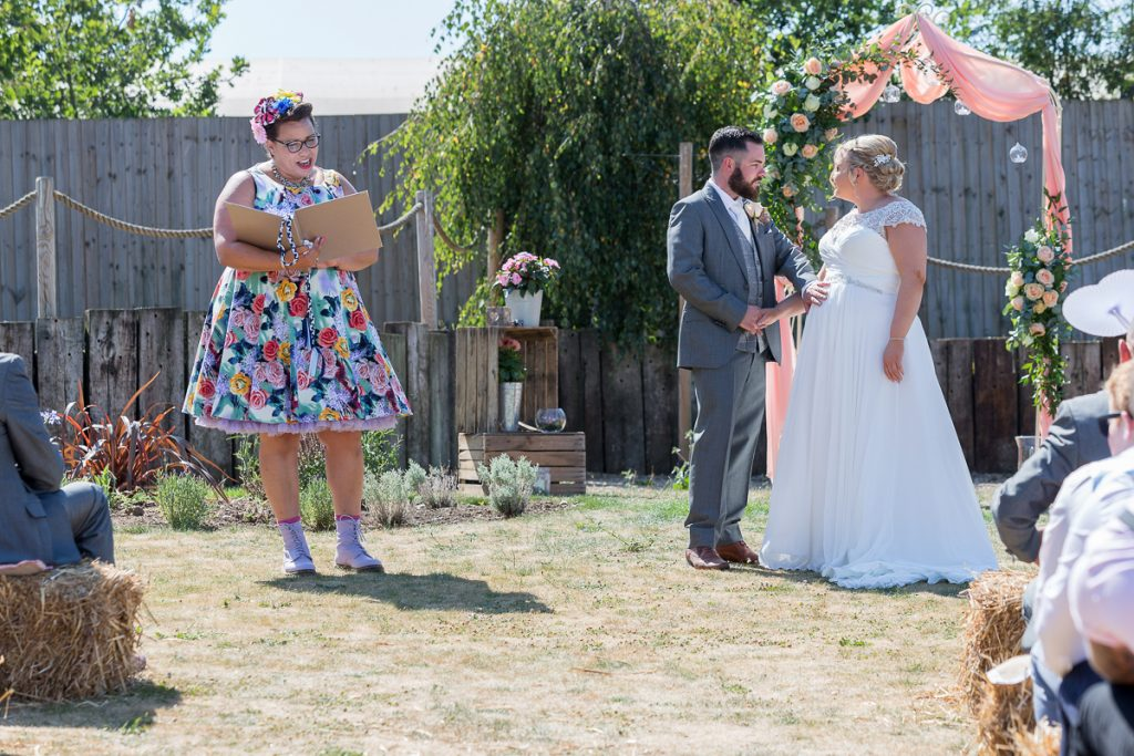 Wedding photography for Jimmy's Farm